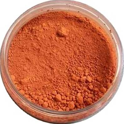 Pot 60ml Ocre Rouge Mexico' - Mercadier' - 0,06