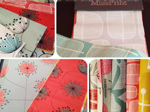 Papiers peints Miss Print