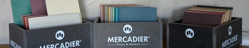 Become Distributor for Mercadier materials